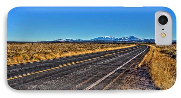 The Road To Flagstaff IPhone Case
