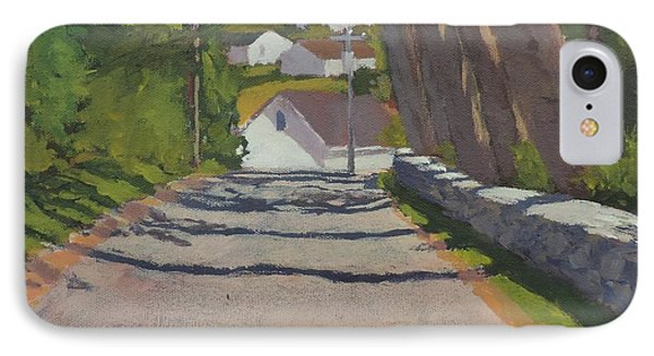 The Road To Mackerel Cove IPhone Case by Bill Tomsa
