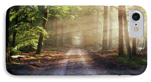 The Road To Mystery By Sarah Kirk IPhone Case