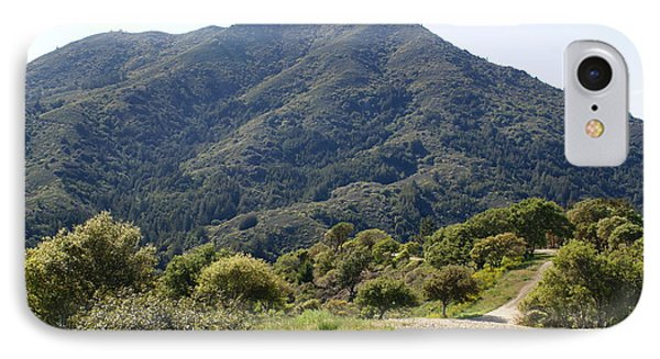 The Road To Tamalpais IPhone Case by Ben Upham III