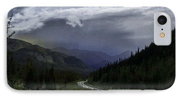 The Road To Valdez Alaska IPhone Case by Teresa A and Preston S Cole Photography