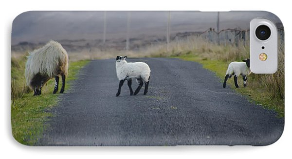 The Roads In Ireland IPhone Case by Bill Cannon