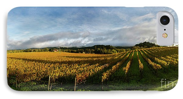 The Rolling Vineyards Of Napa  IPhone Case by Jon Neidert