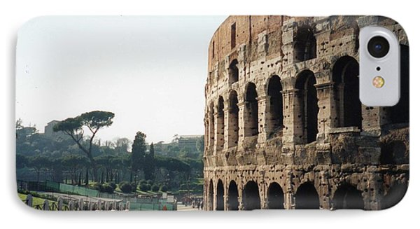 The Roman Colosseum IPhone Case by Marna Edwards Flavell