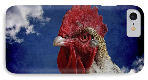 The Rooster Phone Case by Ernie Echols