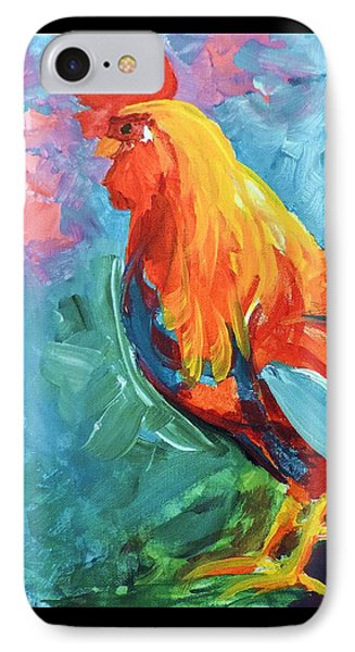 The Rooster IPhone Case by Tom Riggs