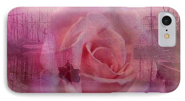 The Rose And The Sea IPhone Case