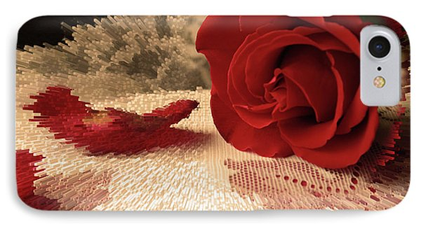IPhone Case featuring the photograph The Rose by Bonnie Willis