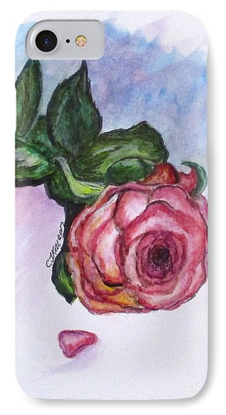 The Rose IPhone Case by Clyde J Kell