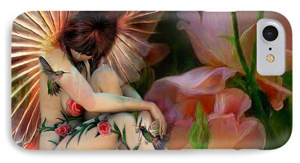 The Rose Fairy IPhone Case by Carol Cavalaris