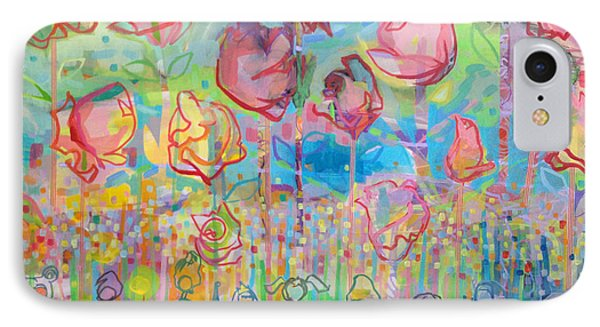 The Rose Garden, Love Wins IPhone Case by Kimberly Santini