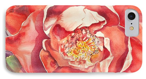 IPhone Case featuring the painting The Rose by Mary Haley-Rocks