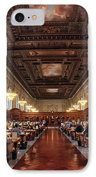 IPhone 7 Case featuring the photograph The Rose Reading Room II by Jessica Jenney