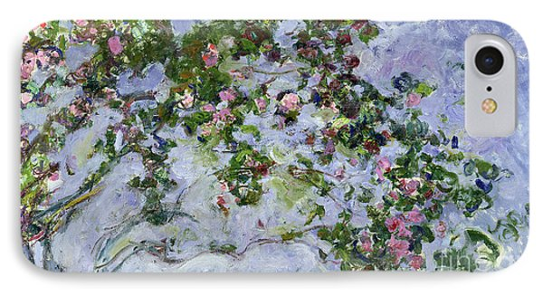 The Roses Phone Case by Claude Monet