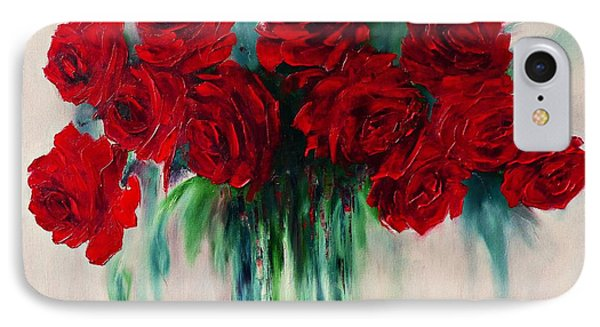 The Roses Of My Summer IPhone Case by AmaS Art
