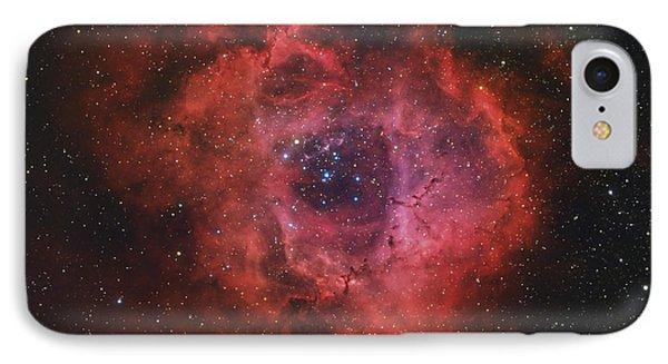 The Rosette Nebula Phone Case by Rolf Geissinger