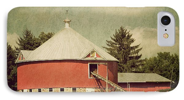 The Round Barn IPhone Case by Joel Witmeyer