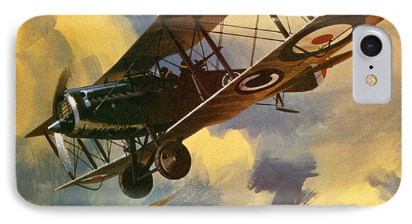 The Royal Flying Corps IPhone Case by Wilf Hardy
