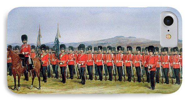 The Royal Fusiliers IPhone Case by Richard Simkin