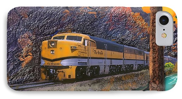 The Royal Gorge IPhone Case by J Griff Griffin