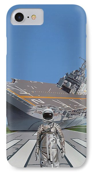 IPhone Case featuring the painting The Runway by Scott Listfield