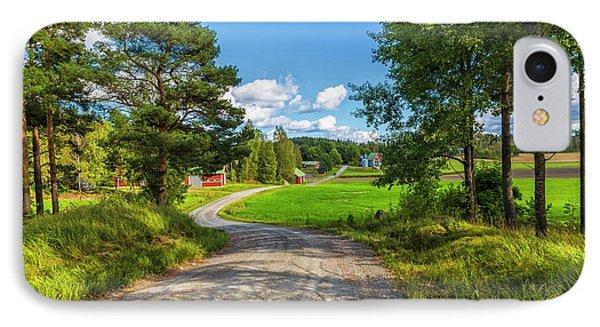 The Rural Landscape IPhone Case by Veikko Suikkanen