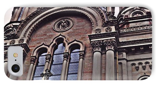 The Russian Church In Wiesbaden 2 IPhone Case by Sarah Loft