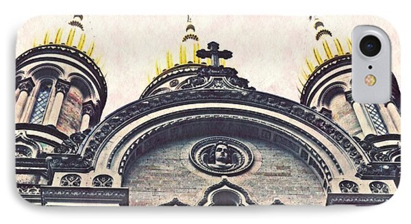 The Russian Church In Wiesbaden IPhone Case by Sarah Loft