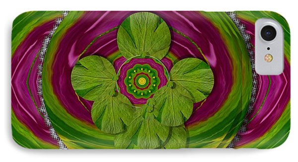The Sacred Mandala IPhone Case by Pepita Selles