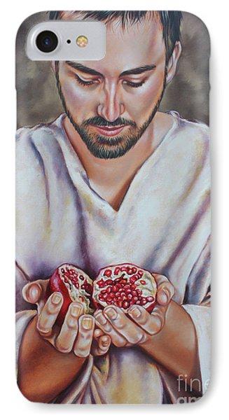 The Sacrifice Of Jesus Phone Case by Ilse Kleyn