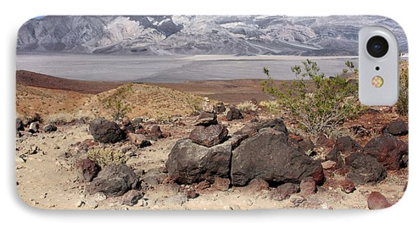 The Salt Flats Of Death Valley Phone Case by Christine Till