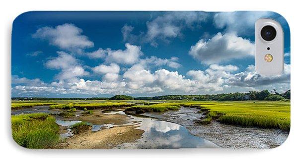 The Salt Marshes, Wellfleet Ma Phone Case by Dapixara Art