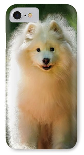 The Samoyed Smile Phone Case by Lois Bryan