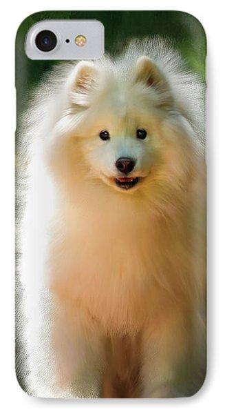 The Samoyed Smile IPhone Case