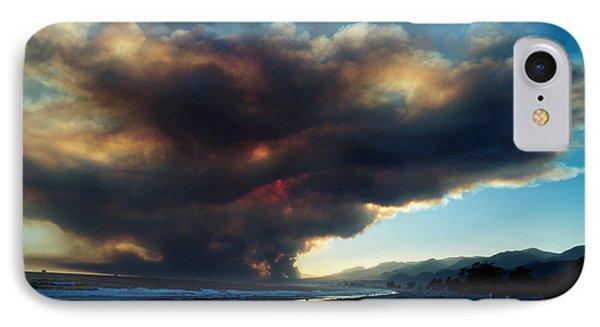 The Santa Barbara Fire Phone Case by Jerry McElroy