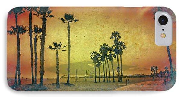 The Santa Monica Way IPhone Case by Az Jackson