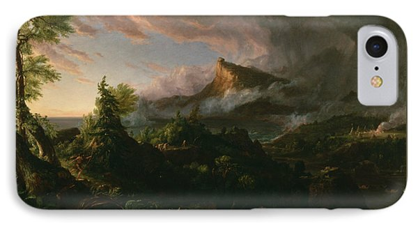The Savage State IPhone Case by Thomas Cole