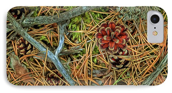 The Scent Of Pine Forest II IPhone Case