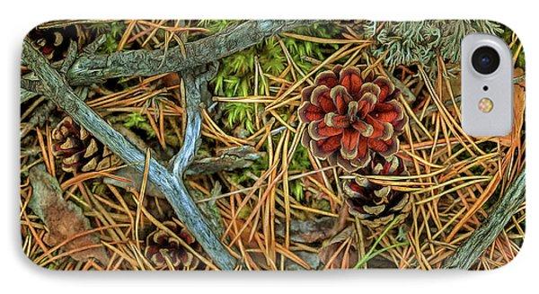 The Scent Of Pine Forest II IPhone Case by Veikko Suikkanen