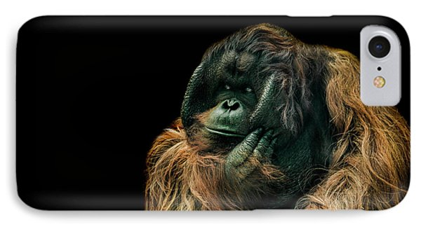 The Sceptic IPhone 7 Case by Paul Neville