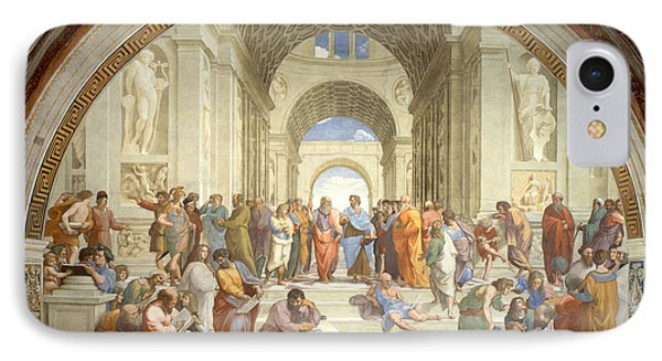 The School Of Athens, Raphael IPhone Case by Science Source