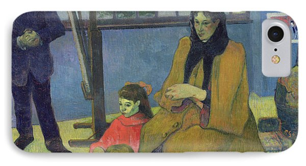 The Schuffenecker Family Phone Case by Paul Gauguin