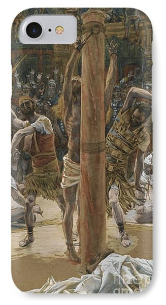 The Scourging On The Back Phone Case by Tissot
