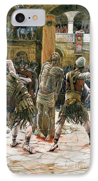 The Scourging Phone Case by Tissot