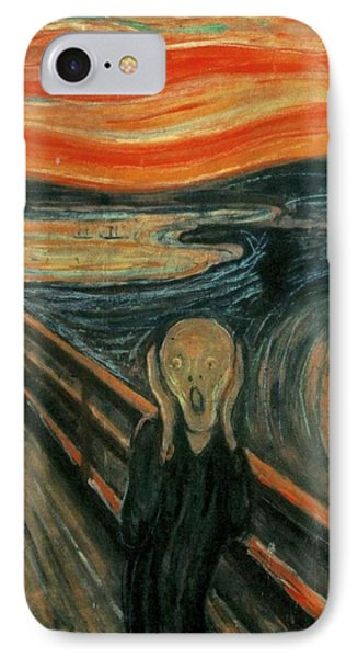 The Scream  IPhone Case by Edward Munch