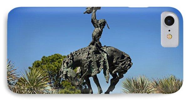 The Sculpture Invocation - Orange Texas IPhone Case