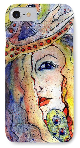 The Sea Becomes Her Phone Case by Robin Monroe