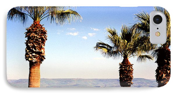 The Sea Of Galilee From The Mount Of The Beatitudes Phone Case by Thomas R Fletcher