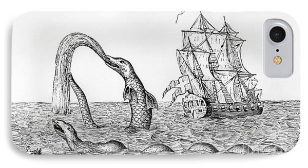 The Sea Serpent IPhone Case