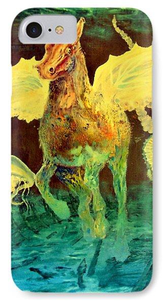 The Seahorse Phone Case by Henryk Gorecki